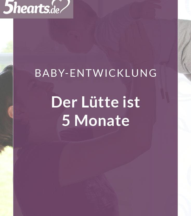 5 Monate Baby – wie unser Sohn sich entwickelt