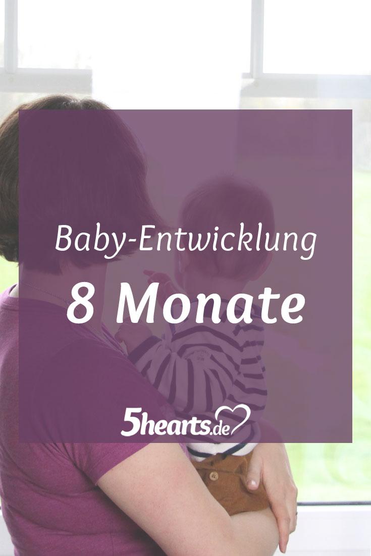 8 Monate Baby - wie unser Sohn sich entwickelt