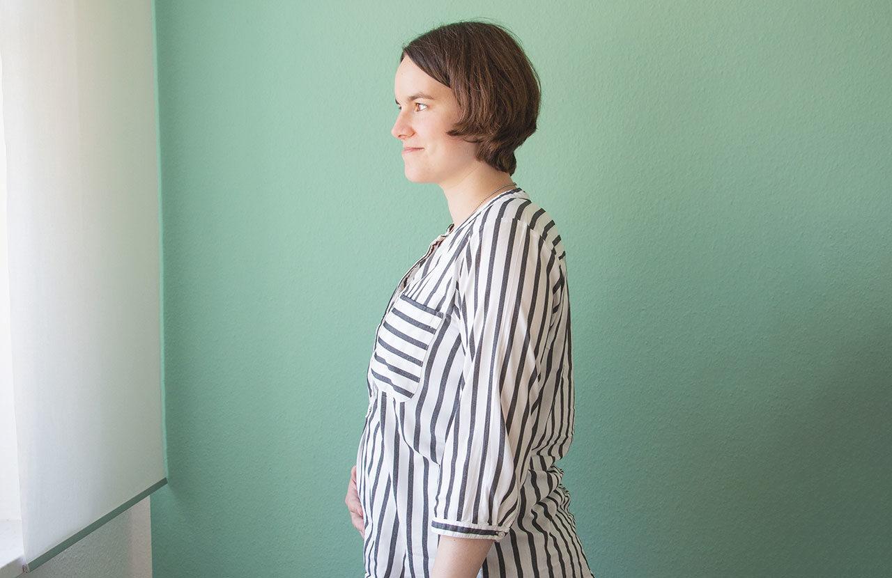 Schwangerschaft - 18. Woche - Bauchfoto
