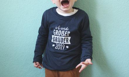 Der Monsieur wird großer Bruder – eine kleine Ankündigung